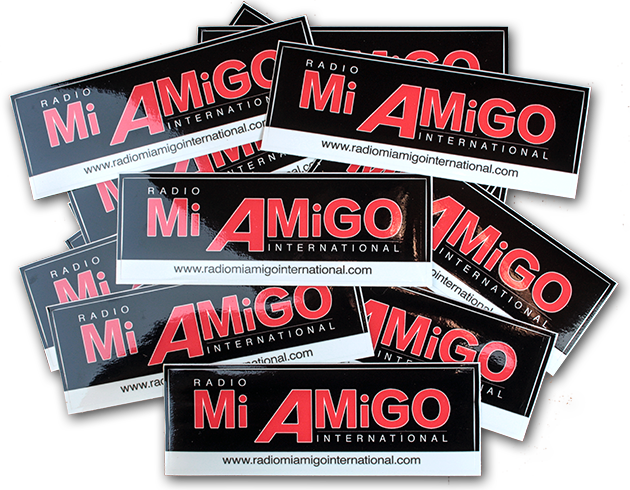 New Mi Amigo stickers!